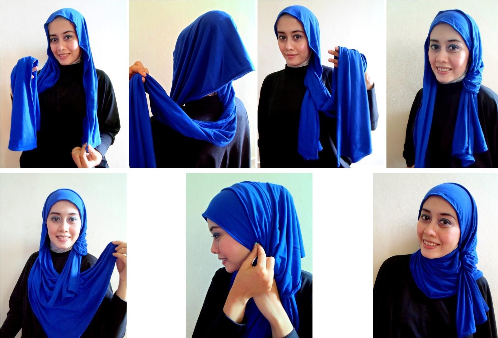 10 Kreasi Hijab Pashmina Kaos Modern Terkini Jilbab Cantik