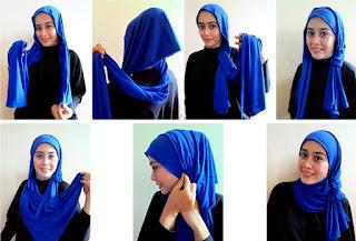 Hijab Pashmina Kaos Modern Terkini