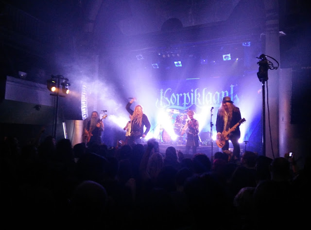 Korpiklaani en Madrid (Arena) 2016