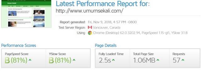 Widget , Kode Google Analytics dan Adsense Memperlambat Loading