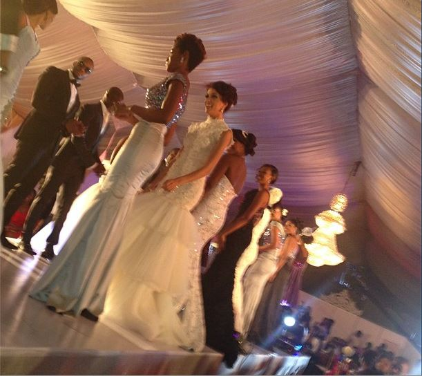 BankyW and Yvonne Nelson's dream wedding pictures