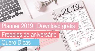 Planner 2019 - Download grátis