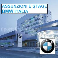 bmw italia assume e offre possibilità di stage