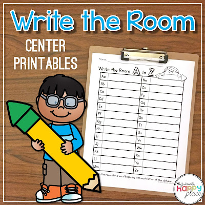 Write the Room Literacy Center on TPT