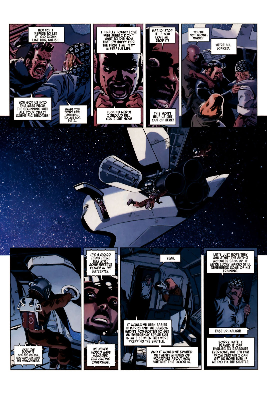 Read online Universal War One: Revelations comic -  Issue #2 - 10