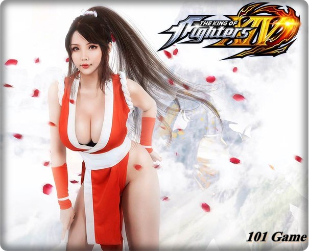 Super Girls Cosplay King of Fighters