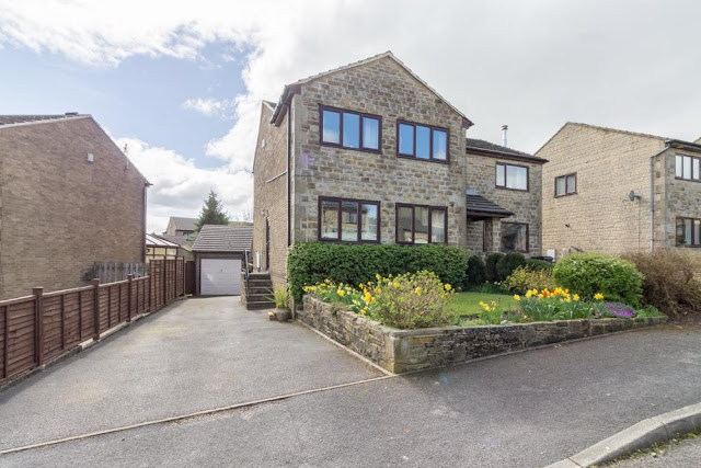 This Is Halifax Property - 3 bed semi-detached house for sale Wharfedale Mount, Shelf, Halifax HX3