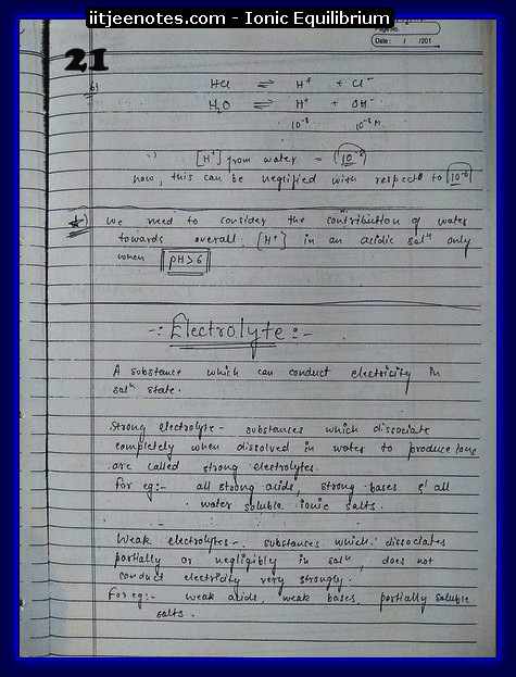 Ionic Equilibrium Notes5
