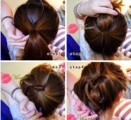 Mengikat rambut