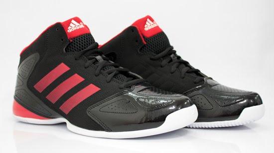 Sepatu Basket Adidas 3 Series 2012 Black Red - Gyagi Sports 94c79e6c8d