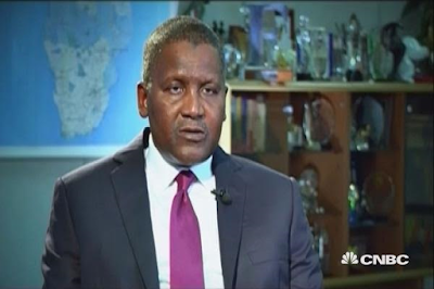 Despite the size of my group, I need 38 visas to move around Africa- Aliko Dangote