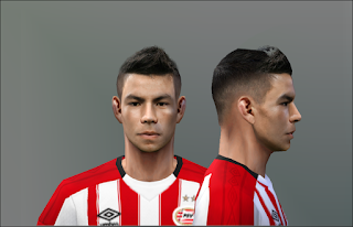 PES 6 Faces Hirving Lozano by Don_rxf
