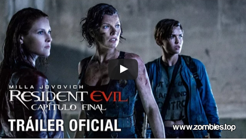 Poster y trailer final de Resident Evil The Final Chapter