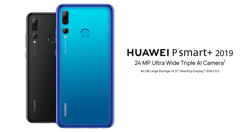 Huawei P smart+ 2019 with triple-cam now official
