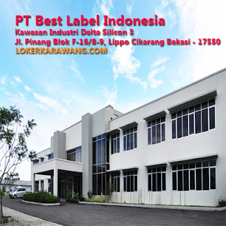 Lowongan Kerja PT Best Label Indonesia Karawang