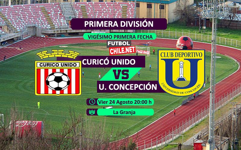 Curicó Unido vs Universidad de Concepción: Previa, horario, dónde ver en vivo por TV y online por la Primera División Chile