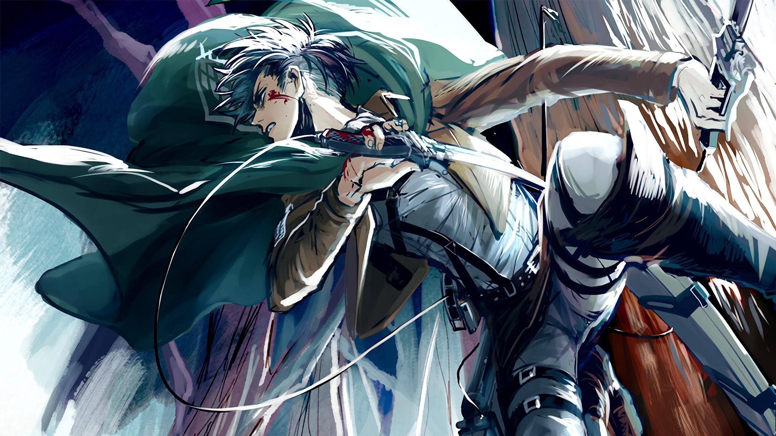 Levi Attack On Titan 4k Wallpaper 129