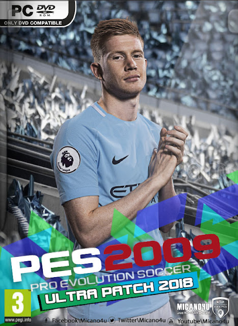PES 2009 Ultra Patch 2017/2018 Released 31-01-2018
