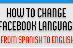 How to Change Facebook to English