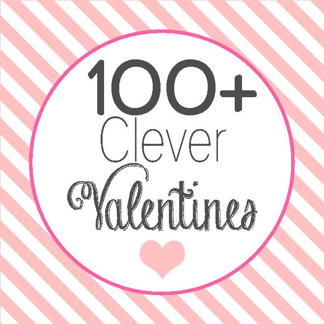 Be My Valentine Picture Quotes: Anna And Blue Paperie: 100+ Clever Valentines