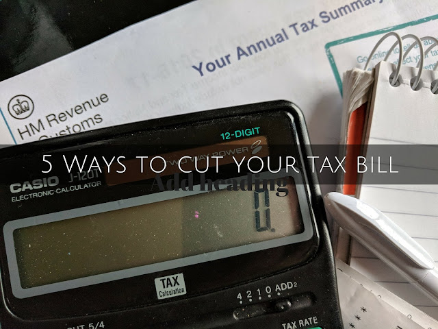 5 ways cut tax bill