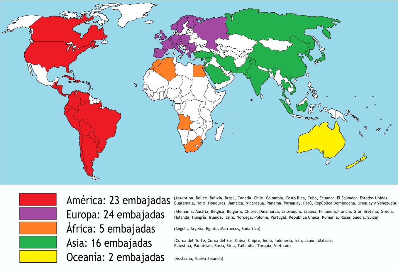 administraciÓn en el sector pÚblico geopolÍtica embajadas y consulados