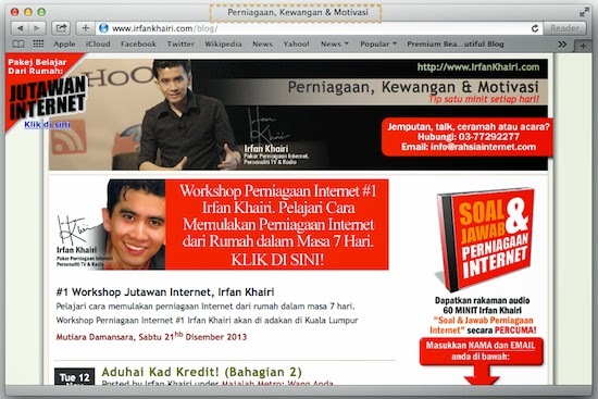 seo on page optimization blog irfan khairi