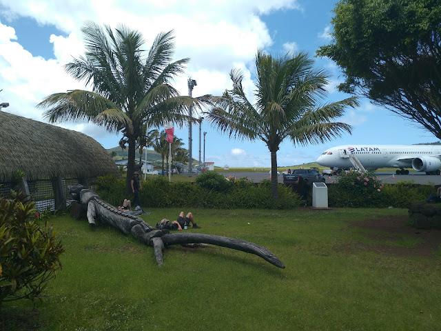 Aeropuerto Hanga Roa, Isla de Pascua