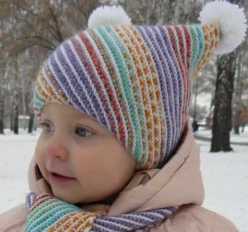 Описание детской шапки