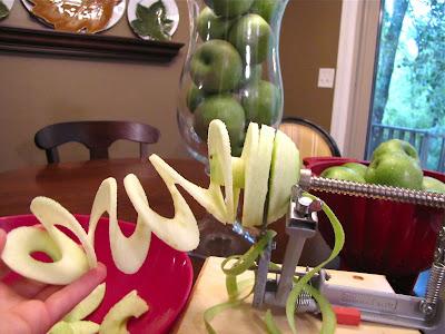 apple peeler, slicer, corer