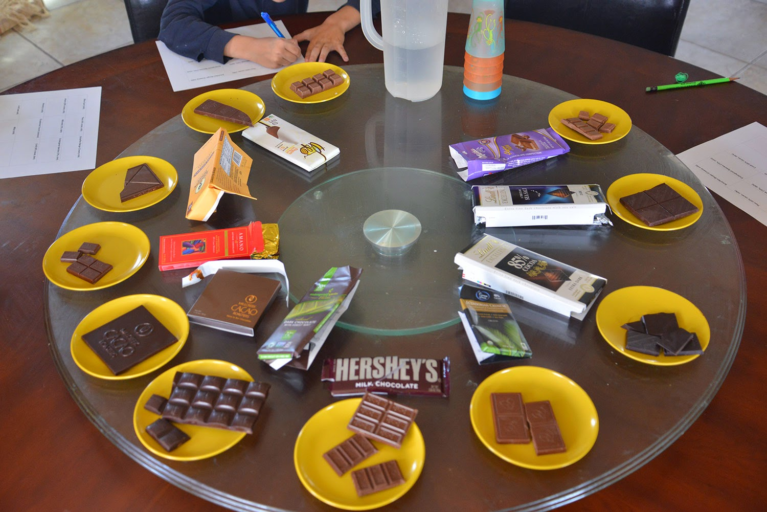 chocolate tasting How to have a chocolate tasting party the concept of a chocolate tasting party  is all about delicious fun you get to eat a lot of chocolate in small amounts,.