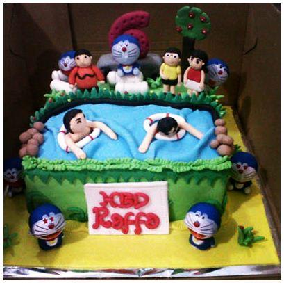 Kue Ulang Tahun Doraemon