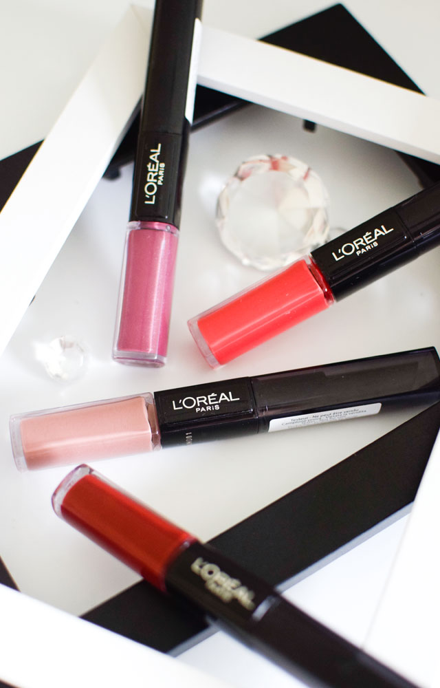 Review der L'Oréal Indefectible Lippenstifte
