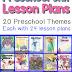 Preschool Themes Lesson Plans