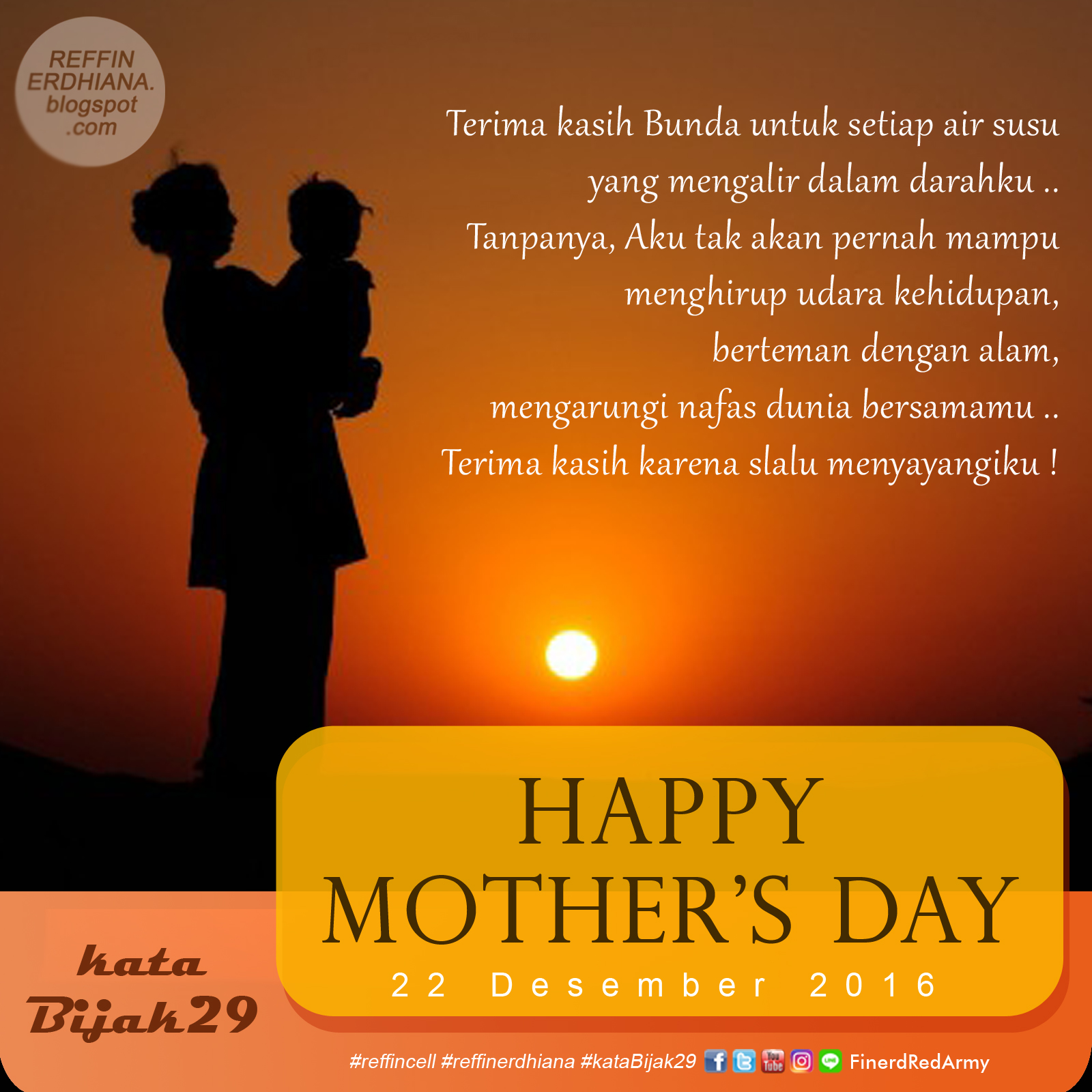 Finerd Reffin Erdhiana Kata Ucapan Selamat Hari Ibu Yang