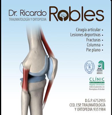 Dr. Ricardo Robles Cornejo TRAUMATÓLOGO GUADALAJARA