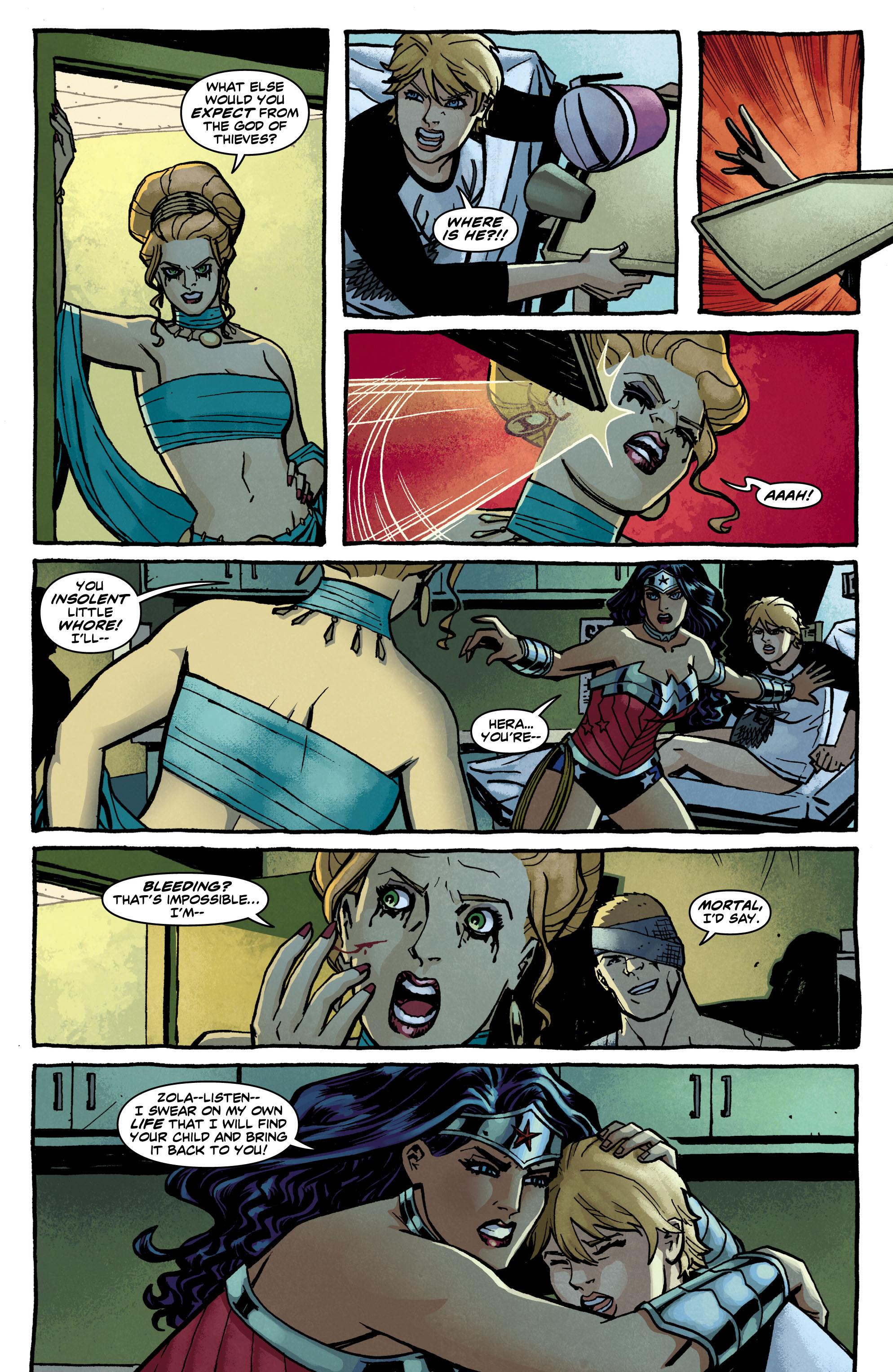 Read online Wonder Woman (2011) comic -  Issue #12 - 19