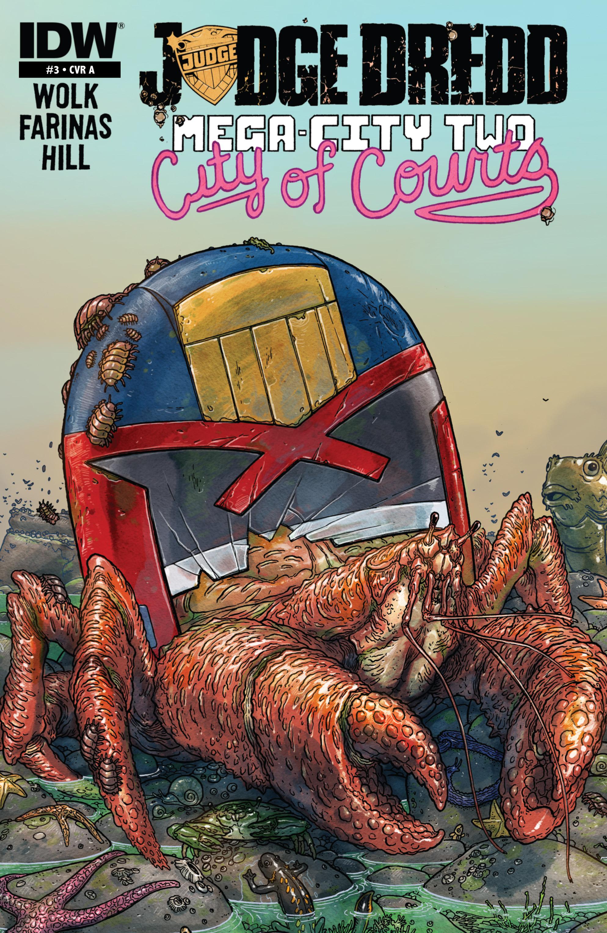 Judge Dredd: Mega-City Two 3 Page 1