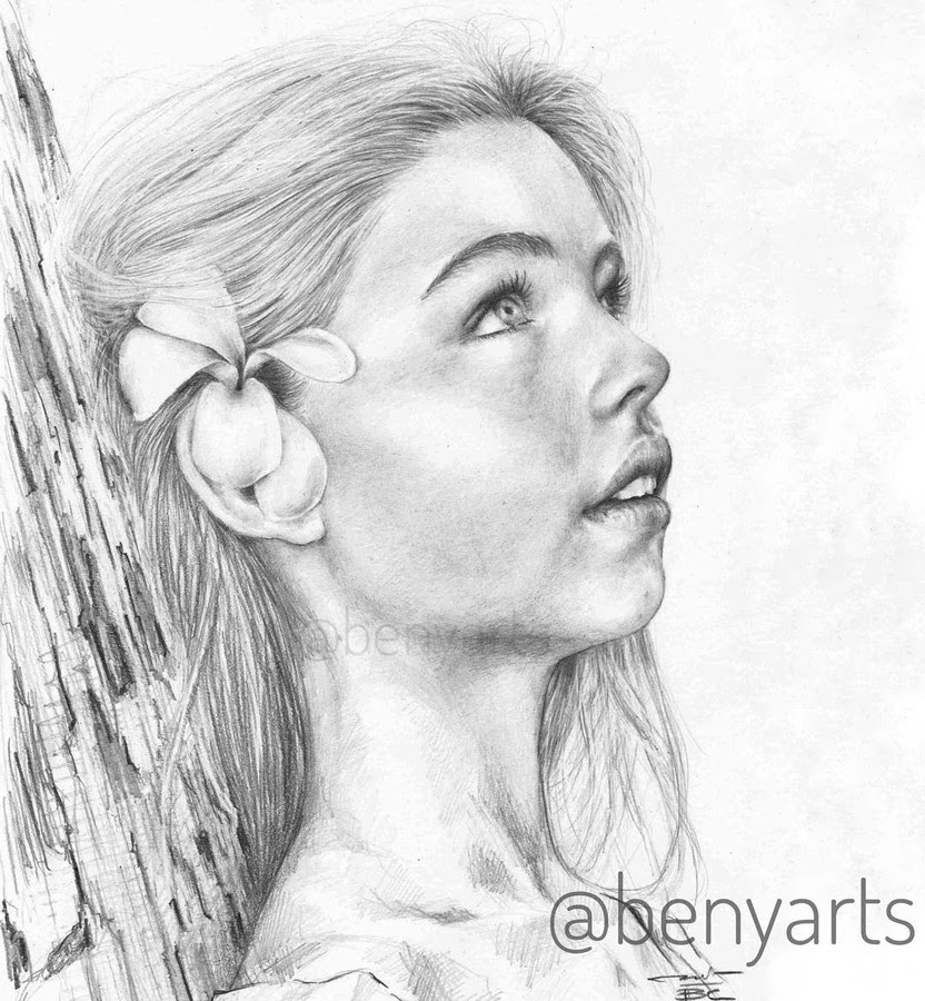 01-Daydreaming-Benyarts-Drawing-Portraits-www-designstack-co