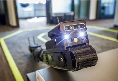 Sarcos Guardian S Snake Robot