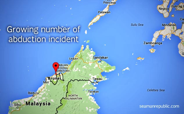 Abductions on Southern Philippines is continue to bother countries trading within the area
