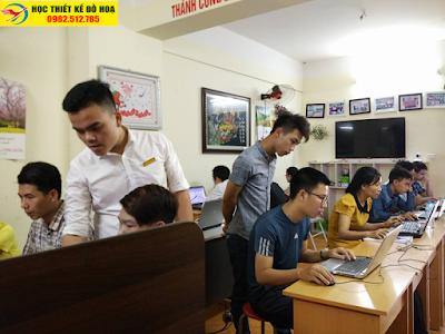 học corelDraw tại Hà Đông