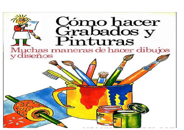 dibujar,pintar,grabar,manualidades,niños,faciles