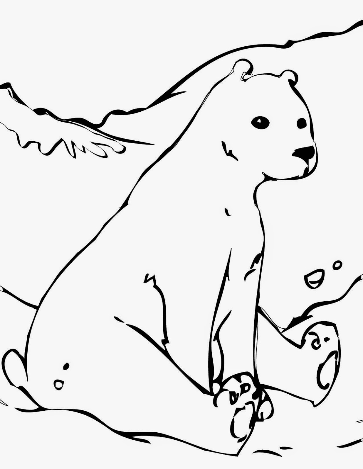 Coloring Pages Bear Free Printable Coloring Pages And