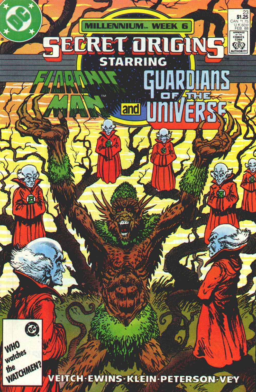 Read online Secret Origins (1986) comic -  Issue #23 - 1