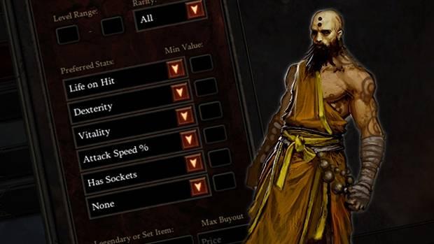 classe de personagem do Games Diablo 3