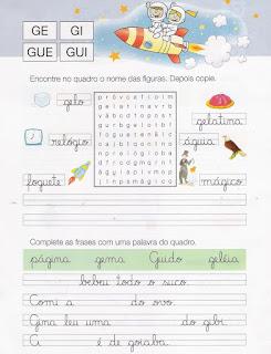 Caderno de Caligrafia - Caca-palavras
