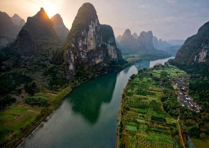 Rio Yangzi (Yangtze)