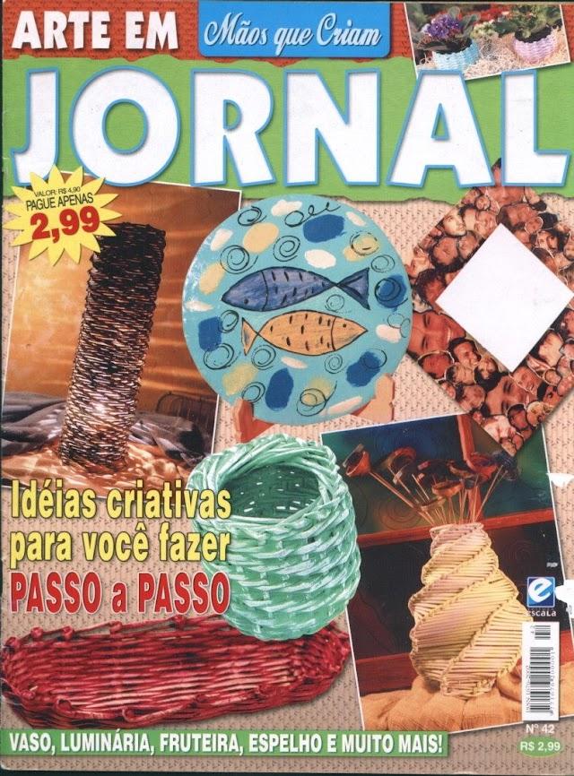 Mão Que Criam N°42 Arte Em Jornal