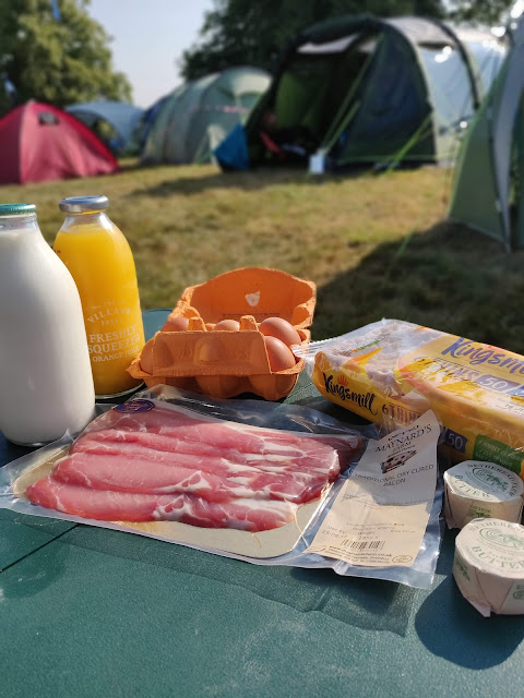 Milk & More festival breakfast